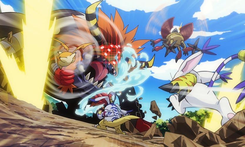 Digimon ReArise cartoon