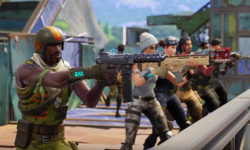 Fortnite Battle Royale team